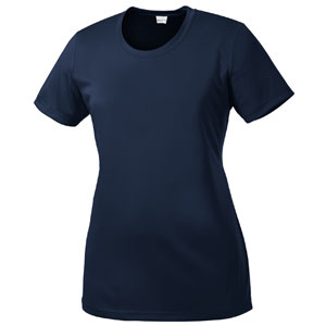 Sport Tek Women's Performance Shirt - Navy LST350-Navy