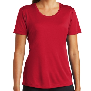 Sport Tek Women's Performance Shirt - Red LST350-Red