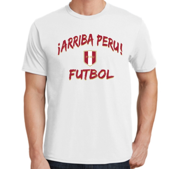 Peru Men Spirit T-Shirt 2018 PERUTEEMEN