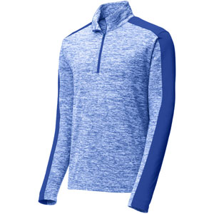 Sport Tek Youth Posi Charge 1/4 Zip Pullover Top - Royal Blue YST397RylBl