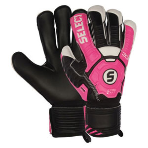 Select 33 Cure Fingersaver Goalkeeper Glove - Pink/Black 60133313