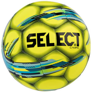 Select Campo Soccer Ball - Yellow/Blue 0388388784