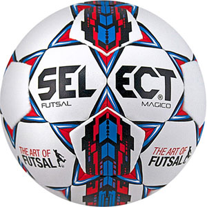 Select Futsal Magico Soccer Ball - White/Blue 14600505020101