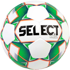Select Futsal Magico Soccer Ball - White/Green 1480050400010101