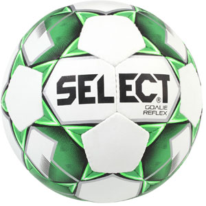 Select Goalie Reflex Trainer Ball - White/Green 2665011878