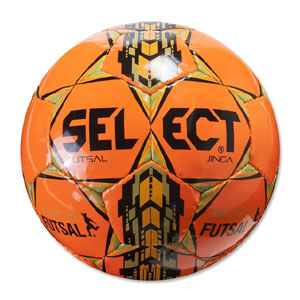 Select Futsal Jinga Soccer Ball - Orange 14600500020101
