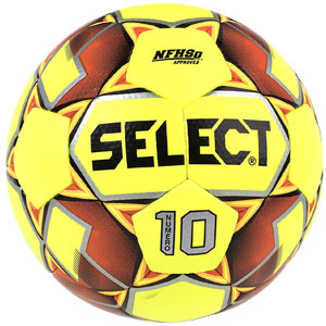 Select Numero 10 Ball IMS - NFHS Approved - Yellow/Orange 0275150116