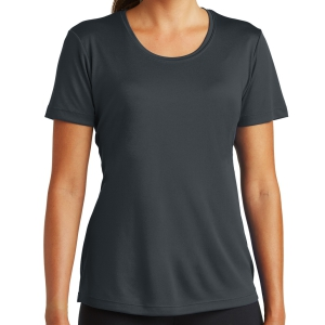 Sport Tek Women's Performance Shirt - Iron Grey LST350-IG
