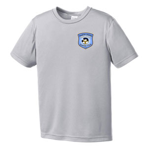 Martin United Soccer Club Youth Training Jersey - Silver MUSC-YST350SLV