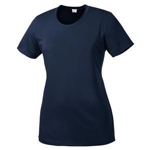 Sport Tek Women's Performance Shirt - Navy WST350Nav