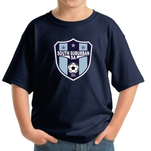 South Suburban Soccer Academy Youth T-Shirt - Navy SSSA-5000B