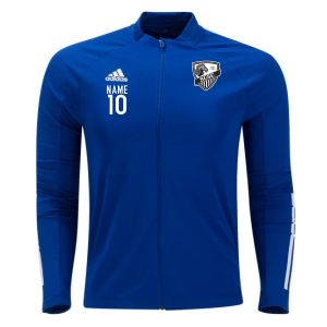 St. Cloud SC adidas Youth Condivo 20 Training Jacket - Team Royal Blue/White SCSC-FS7100