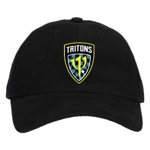 Treasure Coast Tritons Custom Hat - Black TCT-C913