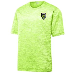 Treasure Coast Tritons Heather Performance Shirt - Lime Shock/Electric TCT-ST390