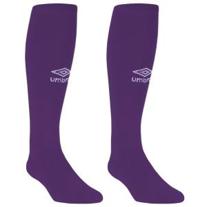 99fcac1c2c85 Umbro Adult Club Sock - Purple UUM164507U-EBK