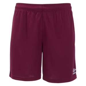 Umbro Men's Field Shorts - Maroon UUM1UALP-UIQ