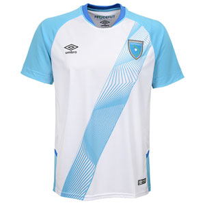 Umbro Guatemala Youth Home Jersey 2019 UUB5GMJS31901