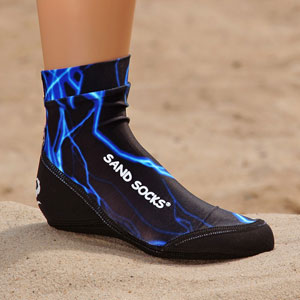 Sand Socks - Kid/Toddler - Blue Lightning SSKBLL