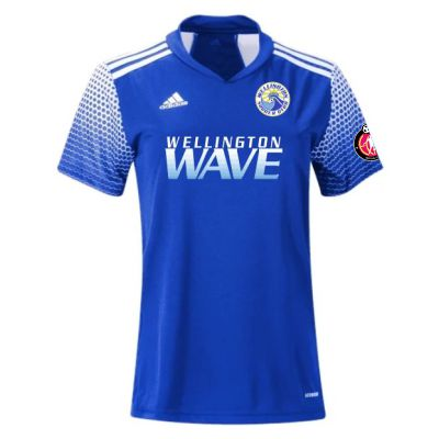 Wellington Wave SC - ECNL - adidas Women's Regista 20 Jersey - Team Royal Blue/White WWSC-FI4546-ECNL