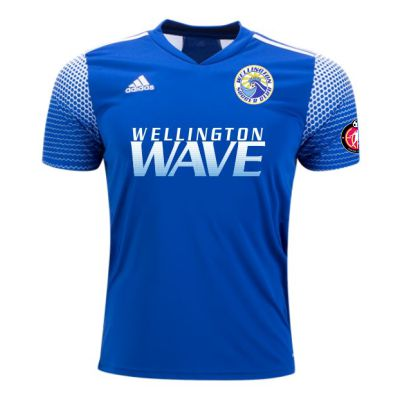 Wellington Wave SC - ECNL Girls - adidas Youth Regista 20 Jersey - Team Royal Blue/White WWSC-FI4563-ECNLG