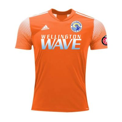 Wellington Wave SC - ECNL Girls - adidas Regista 20 Goalkeeping Jersey - Orange/White WWSC-FT6572-ECNLG