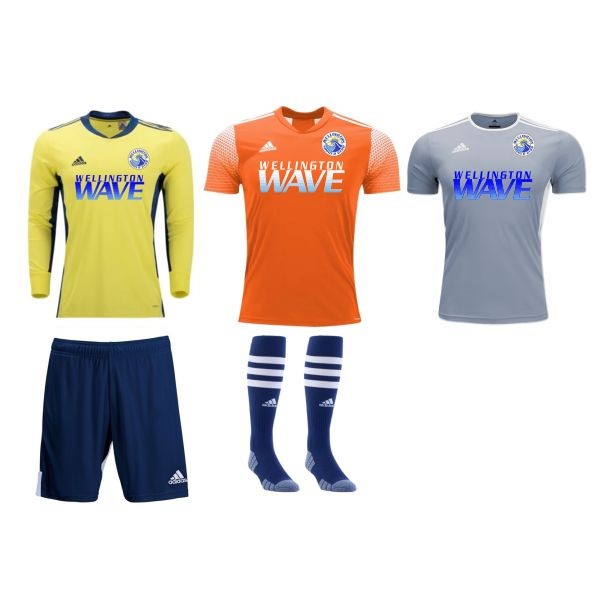Wellington Wave SC - Youth Required Goalkeeping Kit WWSC-YTGKT