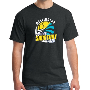 Wellington Shootout T-Shirt - Black WWSC-B-6 000-SO