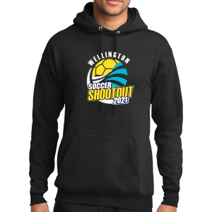 Wellington Shootout Hooded Spirit Sweatshirt - Black WWSC-B-PC78H-SO