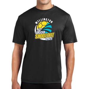 Wellington Shootout Performance Shirt - Black WWSC-B-ST350-SO
