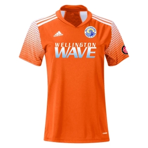 Wellington Wave SC - ECNL Girls - adidas Women's Regista 20 Goalkeeper Jersey - Team Orange/White WWSC-FT6568-ECNL