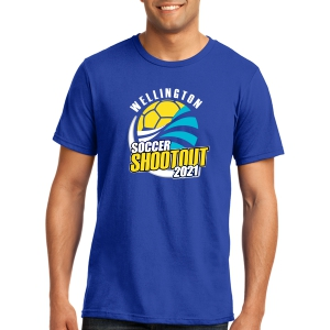 Wellington Shootout T-Shirt - Royal WWSC-RB-5000-SO