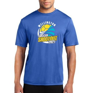 Wellington Shootout Performance Shirt - Royal Blue WWSC-RB-ST350-SO