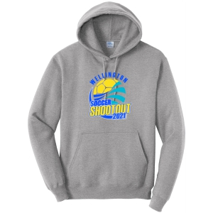 Wellington Shootout Hooded Spirit Sweatshirt - Sport Grey WWSC-SG-PC78H-SO