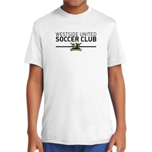 Warriors Youth Performance Shirt - White WSC-YST350Whi