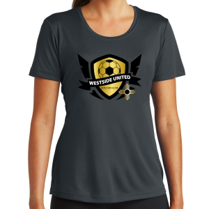 West Side United SC Women's Training Shirt - Iron Grey WSU-LST350-IG